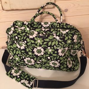 "VERA BRADLEY ""LUCKY YOU"" WEEKEND BAG"